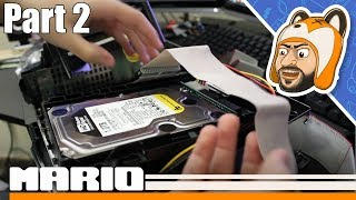 Let's Upgrade an Original Xbox! - 80 Wire IDE Cable & 1TB SATA Hard Drive Install - Part 2