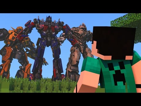 Minecraft Mods - MORPH HIDE AND SEEK - TRANSFORMERS MOD!