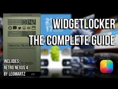 Widgetlocker - The Complete Guide & Retro Lockscreen Tutorial