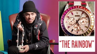 Ozuna Shows Off His Insane Jewelry Collection | On the Rocks | GQ