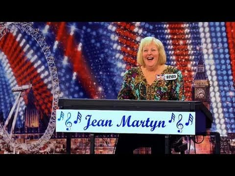 Jean Martyn - Britain's Got Talent 2011 audition - itv.com/talent - UK Version