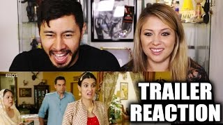 HAPPY BHAG JAYEGI Trailer Reaction by Jaby & Elizabeth Jayne!