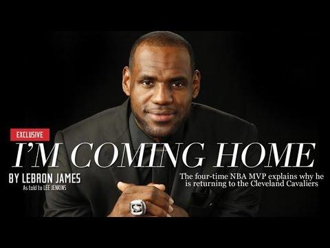Lebron James Returning to Cleveland - Celebs React!
