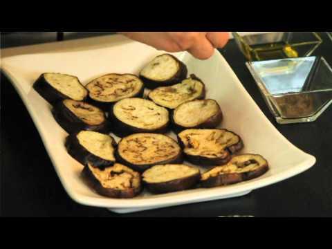 Berenjenas a la plancha - Grilled Eggplant