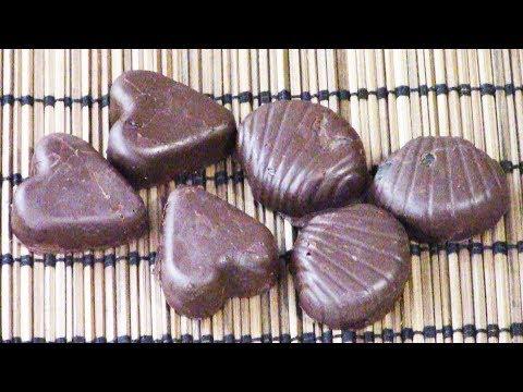 Желейные конфеты в шоколаде