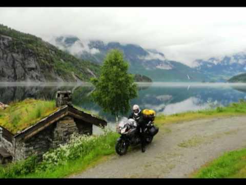 una favola in moto la Norvegia