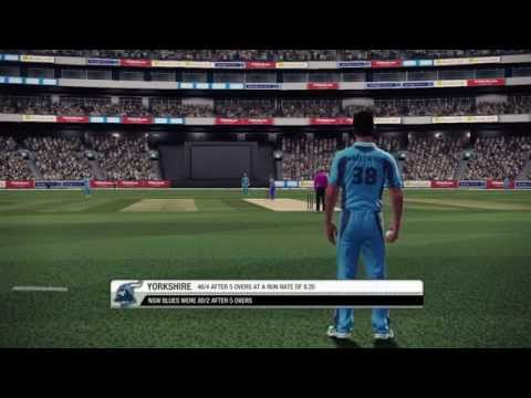 Don Bradman Cricket 14 - New South Wales Blues Vs Yorkshire | HD Gameplay