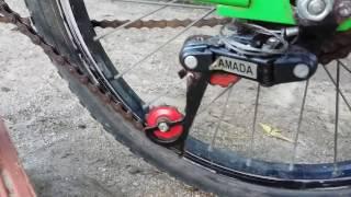 1ª Bicicleta Elétrica Caseira, com Macha.