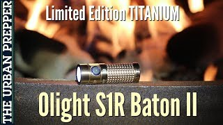 "Olight S1R Baton II TITANIUM (Limited Edition ""Seasons"")"