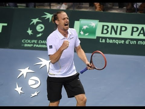 Highlights: Jo-Wilfried Tsonga (FRA) v Peter Gojowczyk (GER)
