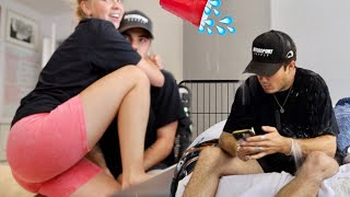 IGNORING MY GIRLFRIEND FOR 24 HOURS PRANK...AGAIN