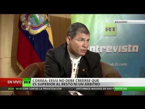 Rafael Correa a RT: