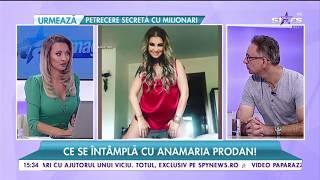 Ce vrea să transmită Anamaria Prodan prin poza nud postată pe rețelele de socializare