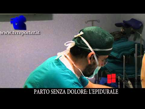 PARTO SENZA DOLORE: L' EPIDURALE