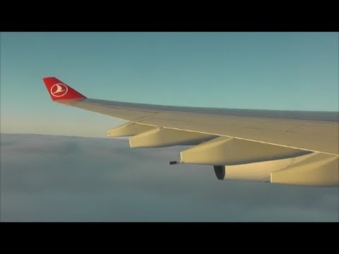 Turkish Airlines Airbus A340-313X | London Heathrow to Istanbul Ataturk *Full Flight*