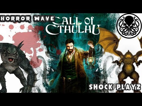 👾 Call Of Cthulhu: 🐙 H.P. Lovecraft New Horror Mystery | (Ps4) Gameplay Walkthrough - [Live] Stream