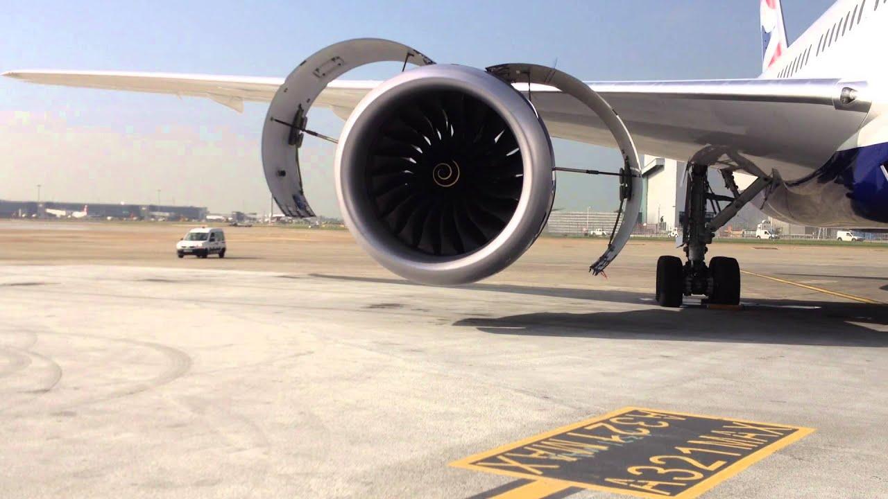 Boeing 787 8 Trent 1000 Engine Start Youtube
