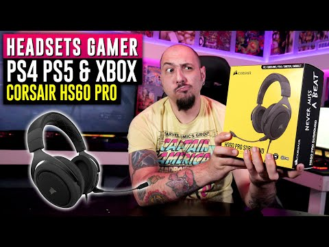 Audifonos Gamer - Corsair H60 PRO Review 🔥 Ps4, Ps5, Xbox One, Xbox Series X & Nintendo switch