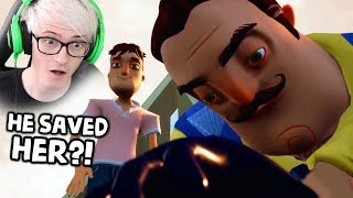A NEW ENDING?! HELLO NEIGHBOR HIDE AND SEEK (Happy End Mod)