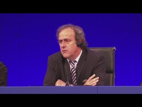 Platini wants Blatter to remain President for Rio 2014