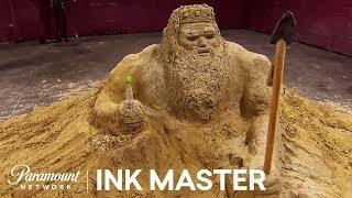 Flash Challenge Preview: Sand Sculptures - Ink Master, Season 8