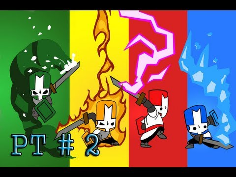 Castle Crashers - PC Gameplay  - Part 2 - HD