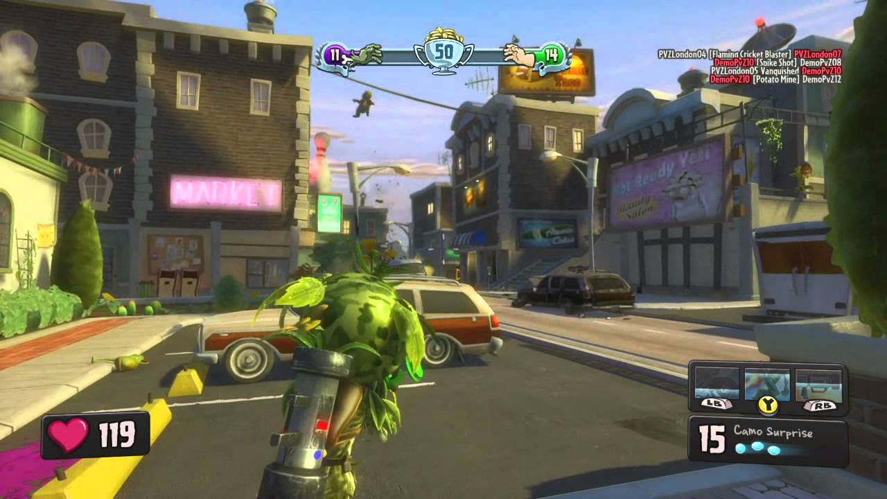 Plants Vs Zombies Garden Warfare Xbox One Interview And Gameplay Youtube