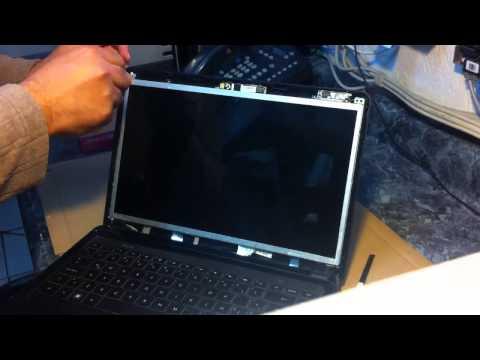 Compaq presario CQ43 Desmontar/Desarmar el dispaly LCD de la pantalla: GizmoTij