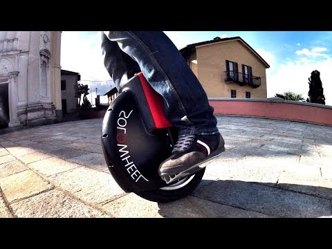 Transport of the future? Monowheel - electric unicycle!