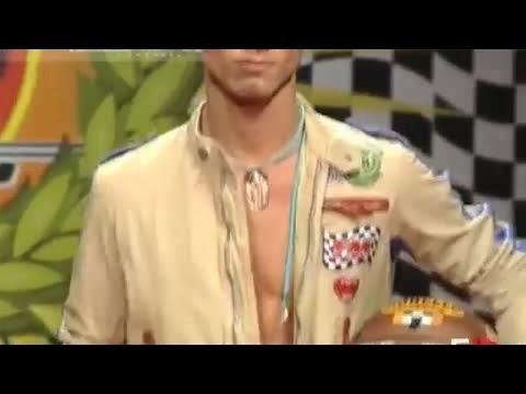 Fashion Show FRANKIE MORELLO Spring Summer 2008 Men Milan 1of 3 by Fashion Channel