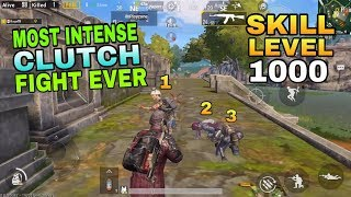 MOST INTENSE SOLO VS SQUADS MOMENTS || PUBG MOBILE | ONE MAN BETTER THAN SQUADS