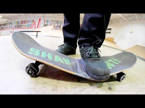 The Broken Skateboard / Can You Still Skate It!?