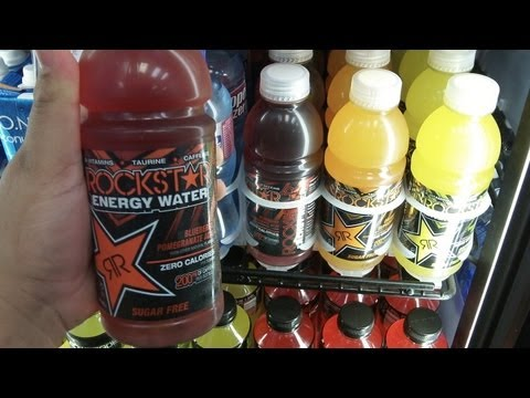 Rockstar Energy Water Drink Run @ Shell Gas Station
