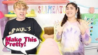 MAKE THIS SLIME THE PRETTIEST CHALLENGE! Slimeatory #584