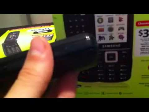 Straight Talk Samsung t401G Review