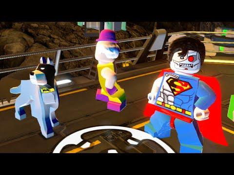 LEGO Batman 3 Beyond Gotham Batcave Hub All Gold Bricks & Collectibles