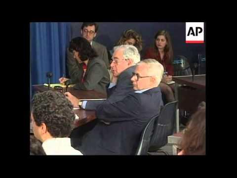 USA: WASHINGTON: STATE DEPARTMENT KOSOVO PRESS CONFERENCE