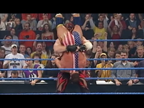 SmackDown 11/1/01 - Part 2 of 6, U.S. Title: Kurt Angle vs Kane