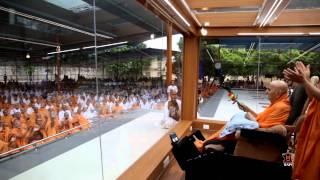 Guruhari Darshan 9 Sep 2014, Sarangpur, India