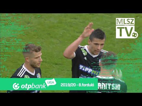 Újpest FC – Mezőkövesd Zsóry FC | 1-2 | (0-1) | OTP Bank Liga | 8. forduló | MLSZTV