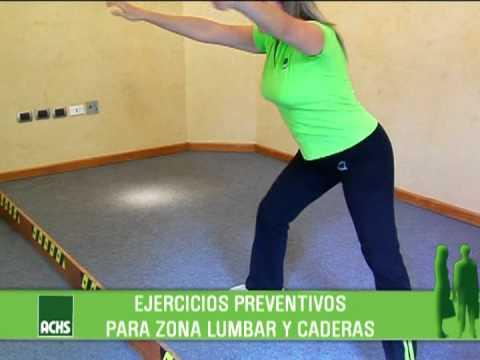Pausas Activas ACHS: Zona lumbar y caderas