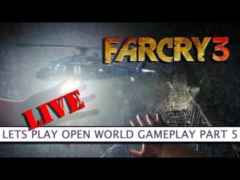 Far Cry 3 - Let's Play Open World Gameplay LIVE Part 5 - Platform32