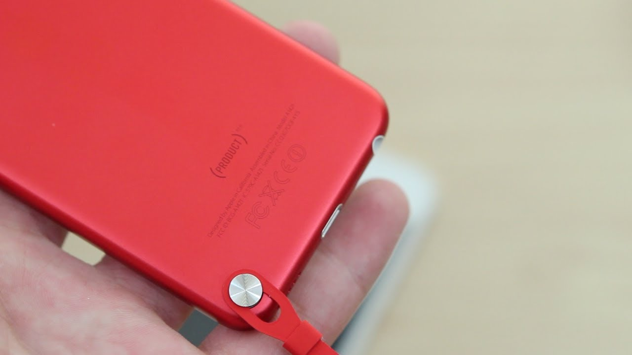 Ipod touch 5 generation red