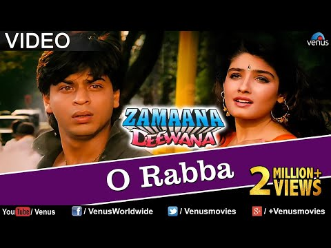 O Rabba Full Video Song | Zamaana Deewana | Shahrukh Khan, Raveena Tandon | Romantic Hindi Song