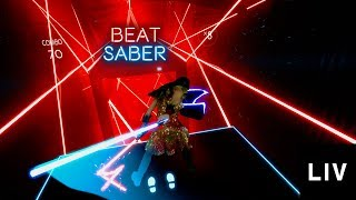 Who's the LIVing LEGEND? - Beat Saber Style Battle