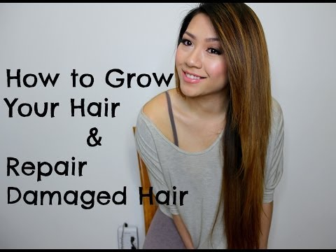 Hair Care Routine For Damaged Hair Naturally