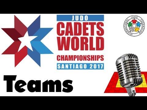 World Judo Championship Cadets 2017: Teams