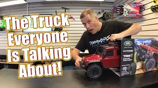 This RC Trail Truck IS AWESOME! - Traxxas TRX-4 Unboxing | RC Driver