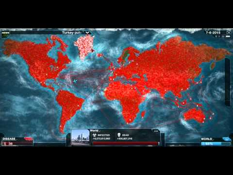 Plague inc: Evolved - Ep 9 - Nano virus mega brutal!