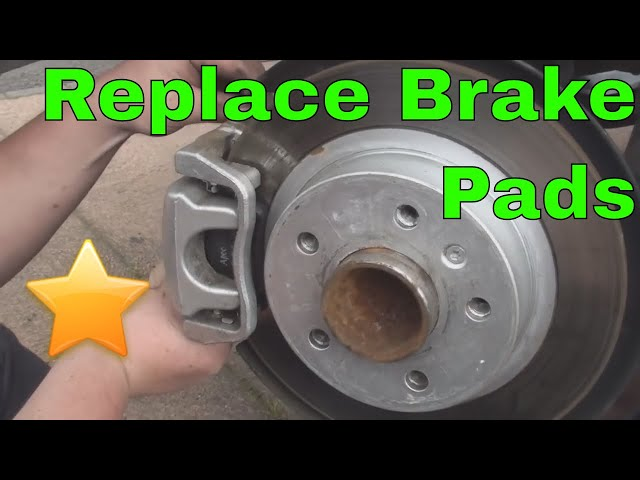 How to Replace your Rear Brake Pads - YouTube